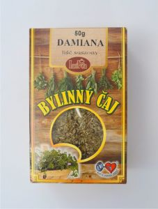 Damiana - dried leaves - 50g