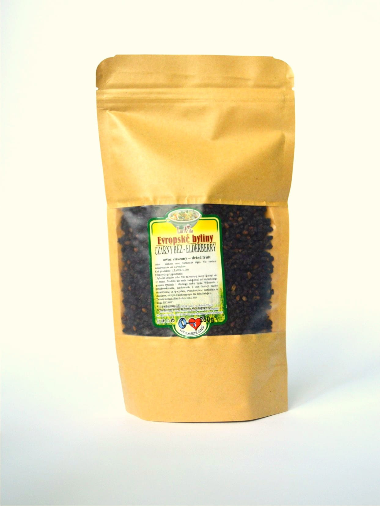 Black elder - fruit - 250g