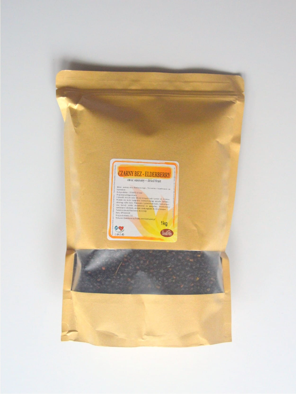 Black elder - fruit - 1000g (1kg)