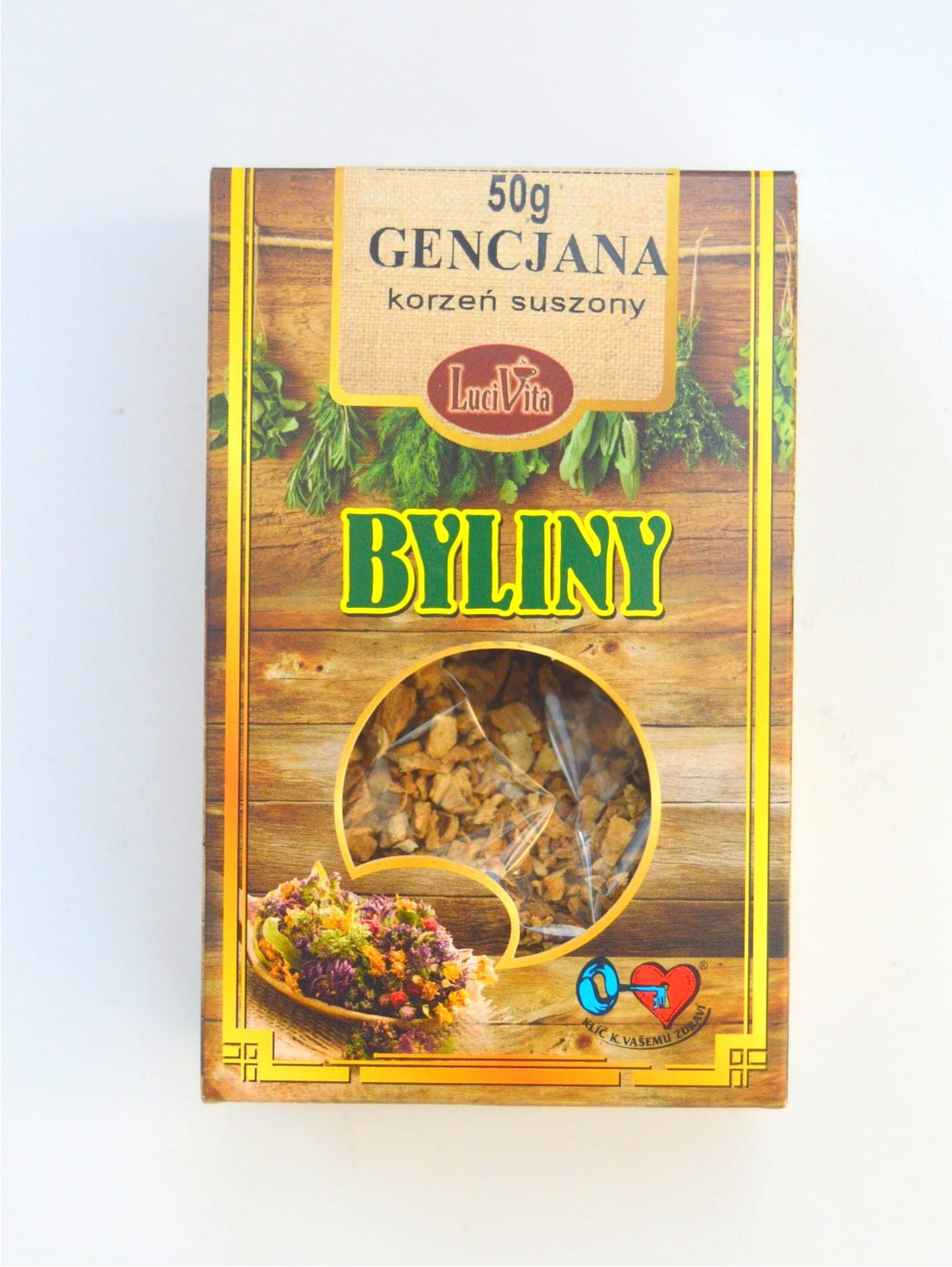 Great yellow gentian - root - 50g