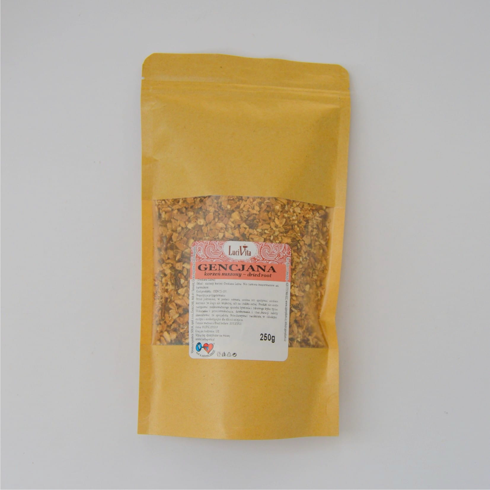 Great yellow gentian - root - 250g