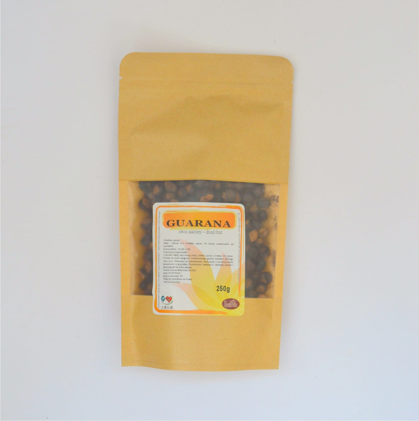 Guarana - dried fruit - 250g