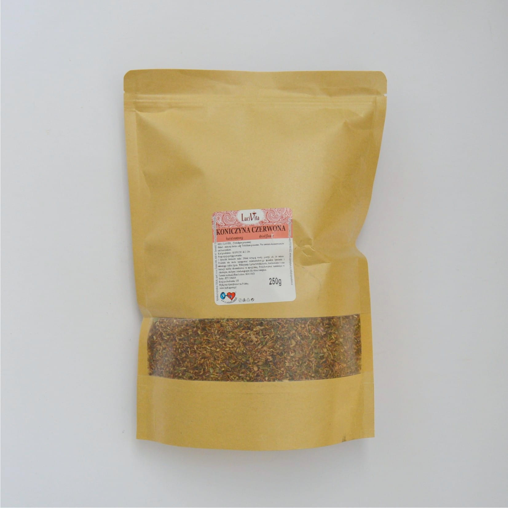 Red clover - whole flower - 250g