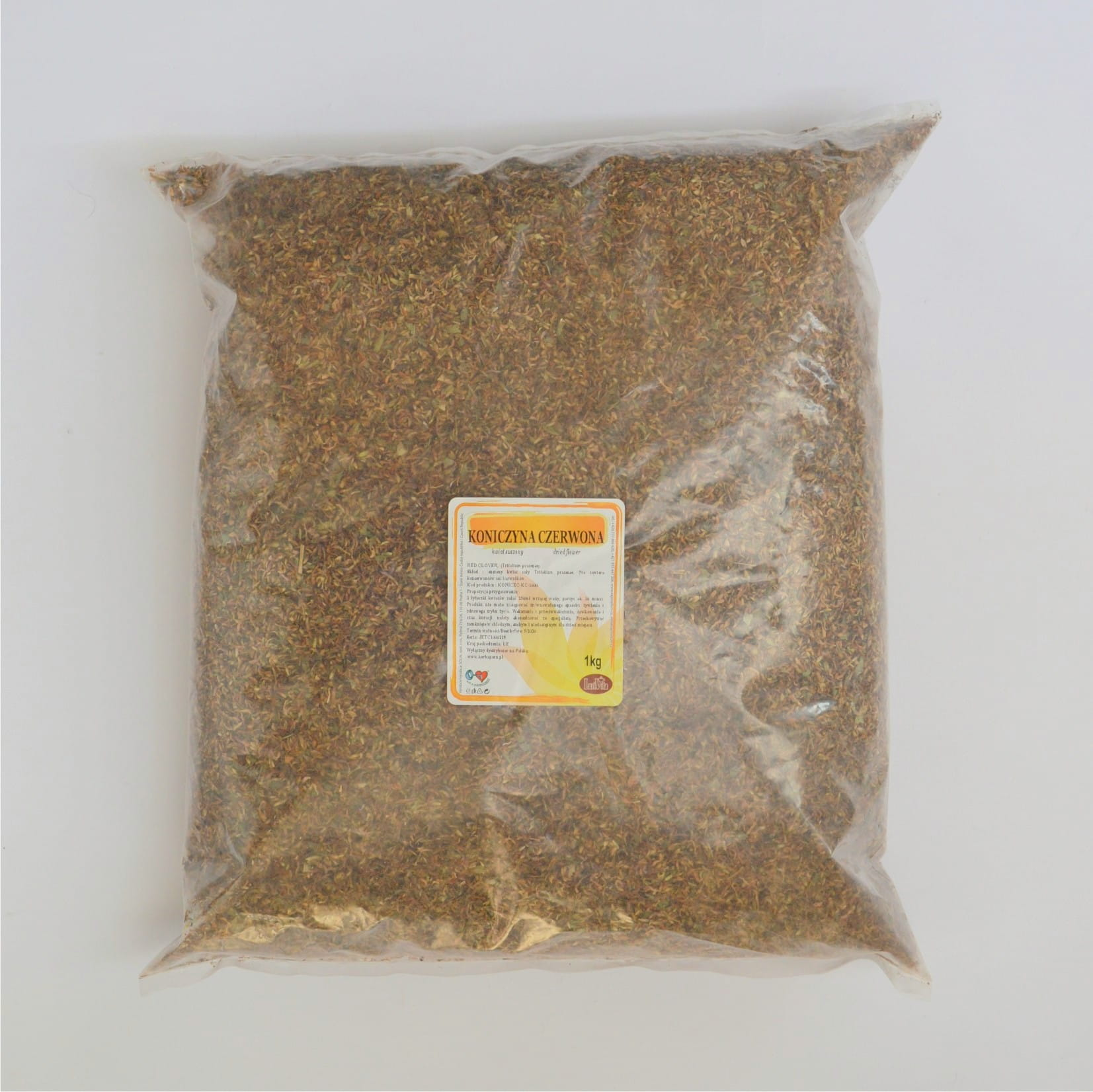 Red clover - whole flower - 1000g (1kg)