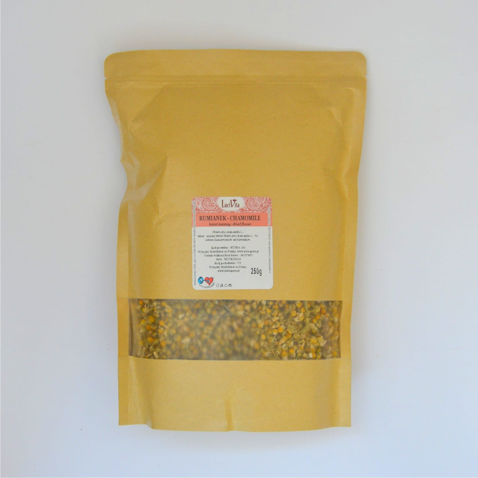 Chamomile - dried flower - 250g