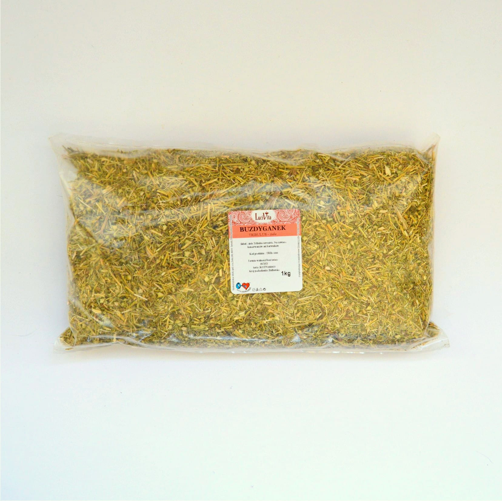 Tribulus - dried herb - 1000g (1kg)