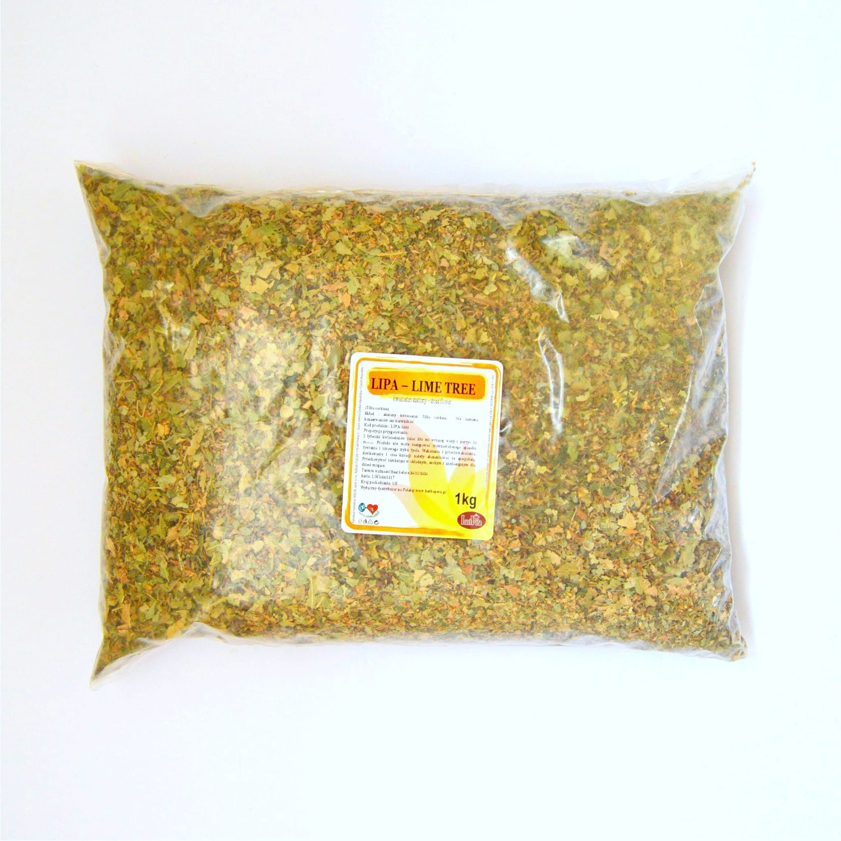 Small-leaved lime - dried flowers - 1000g (1kg)
