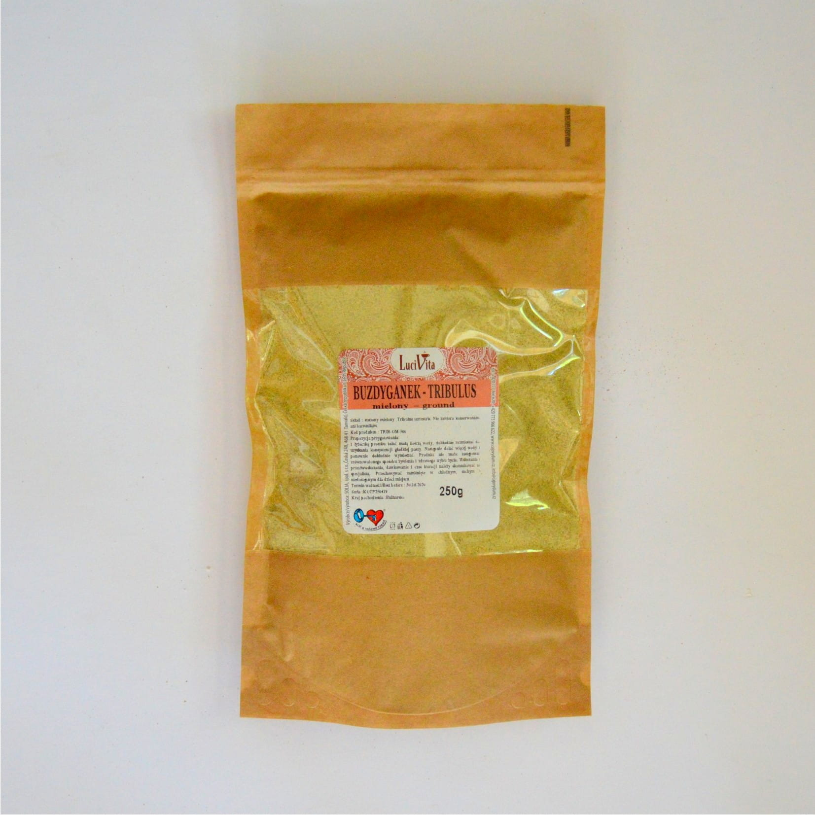 Tribulus - ground fruit - 250g