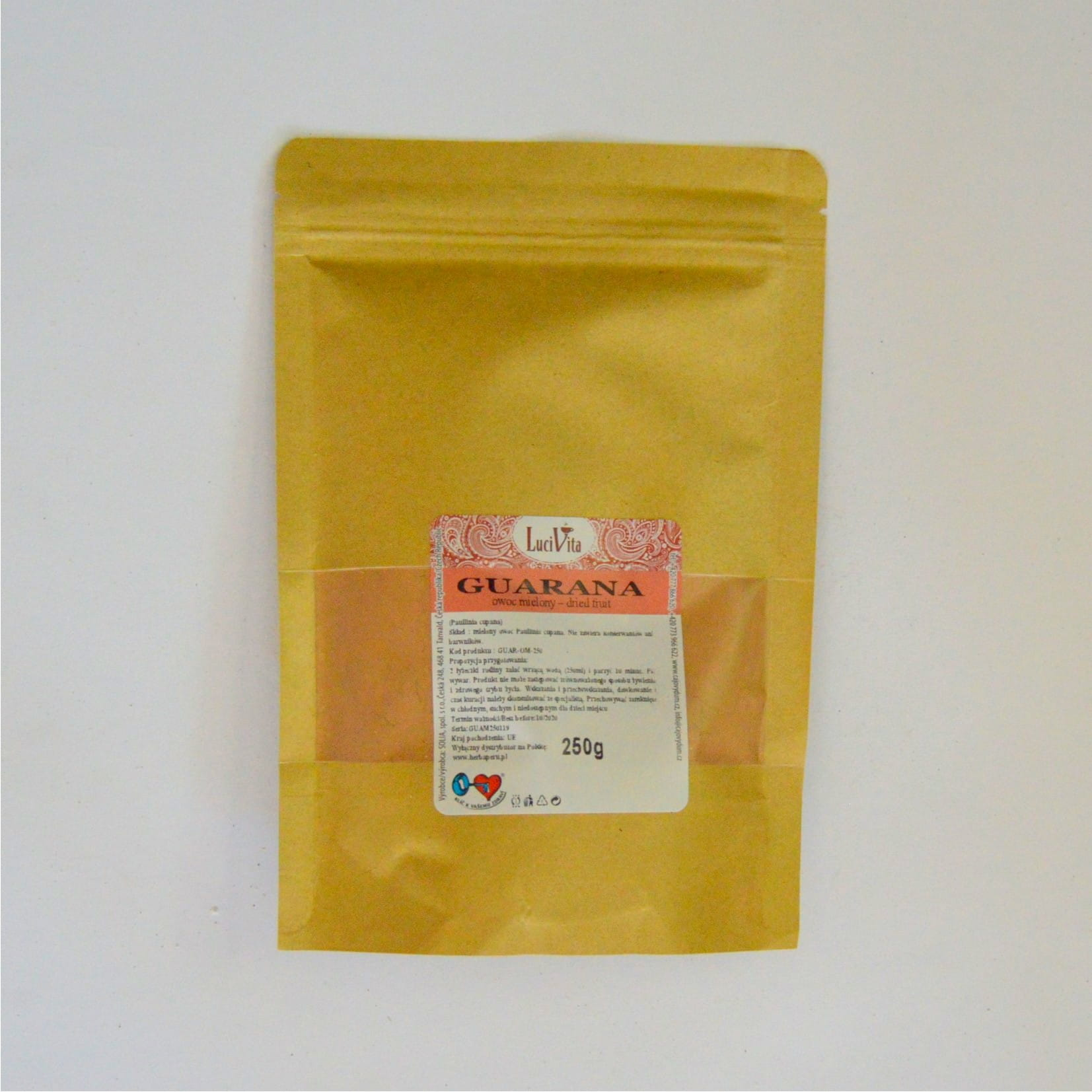 Guarana - powdered fruit - 250g