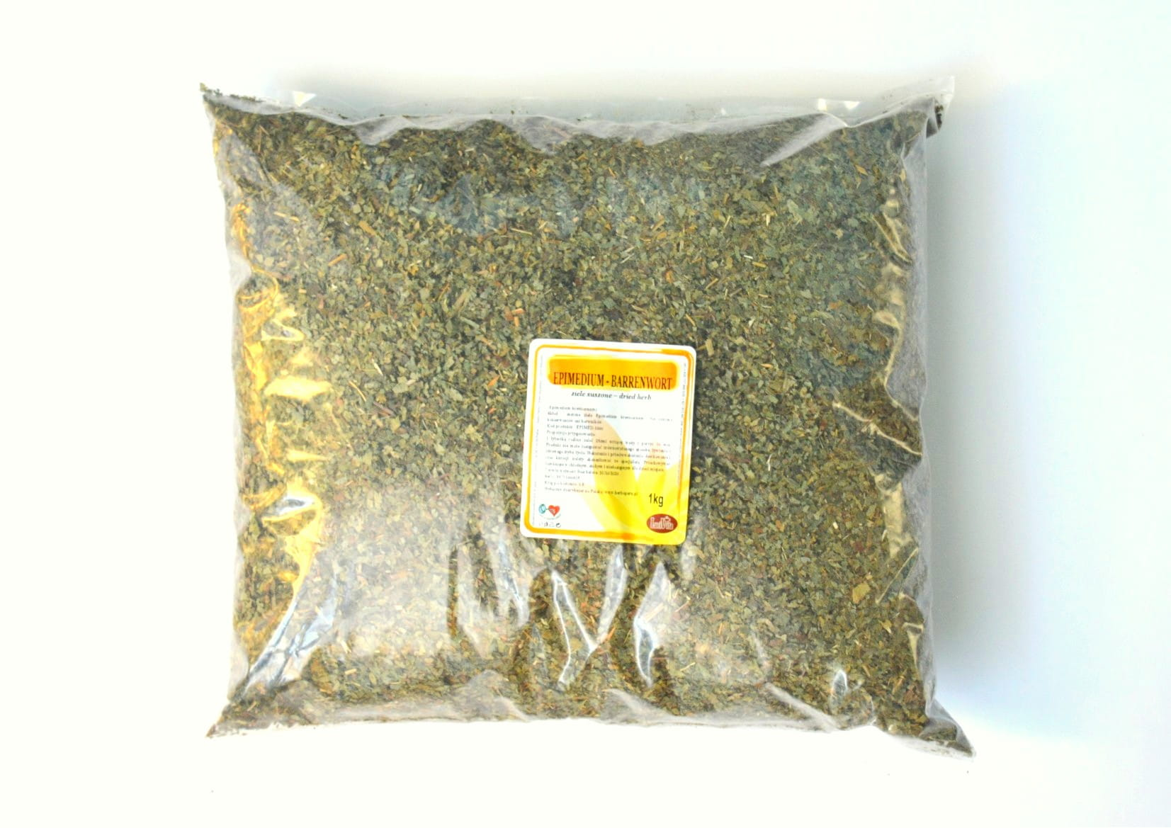 Horny goat weed - dried herb - 1000g (1kg)