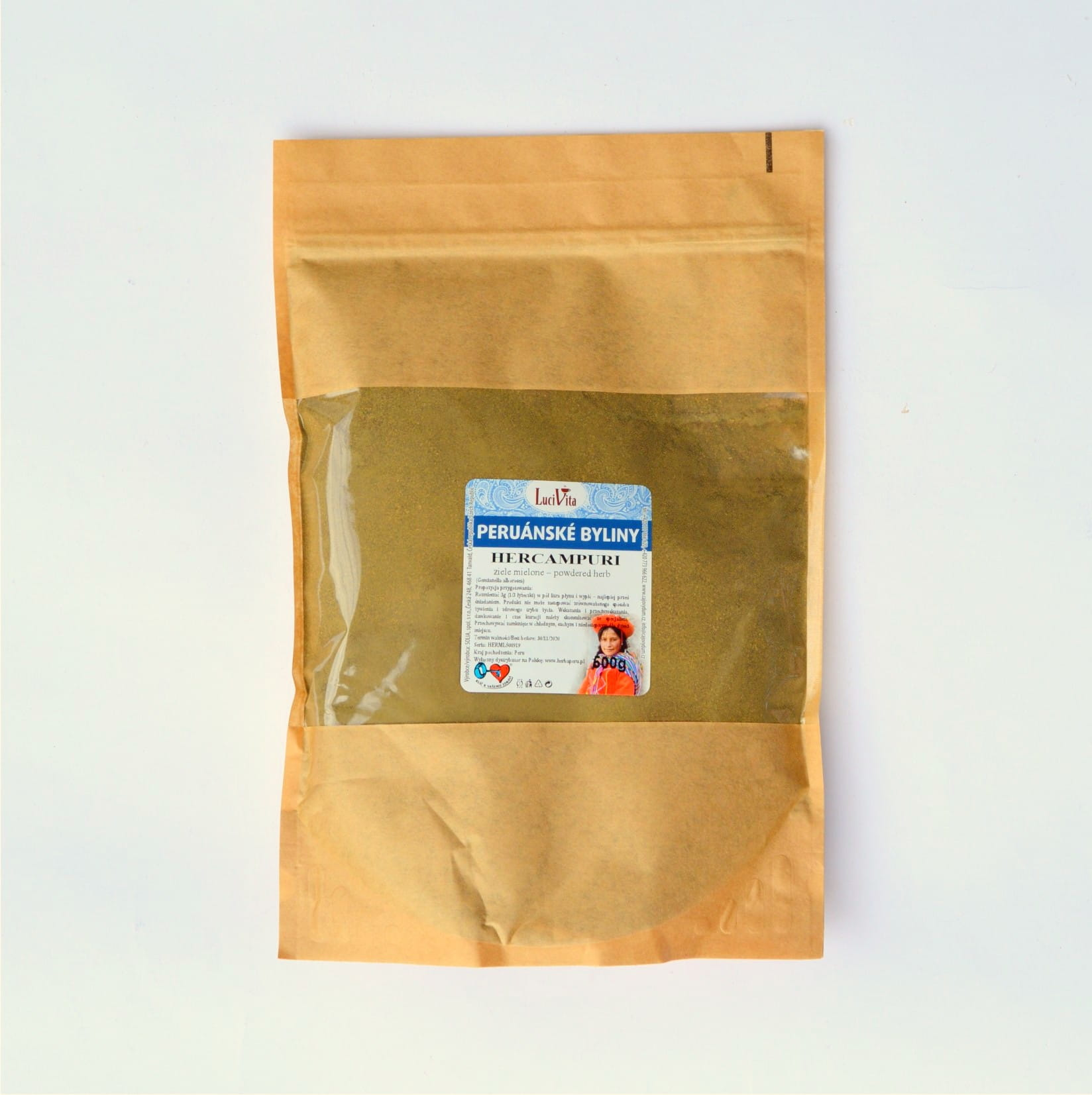 Hercampuri - powdered herb - 500g
