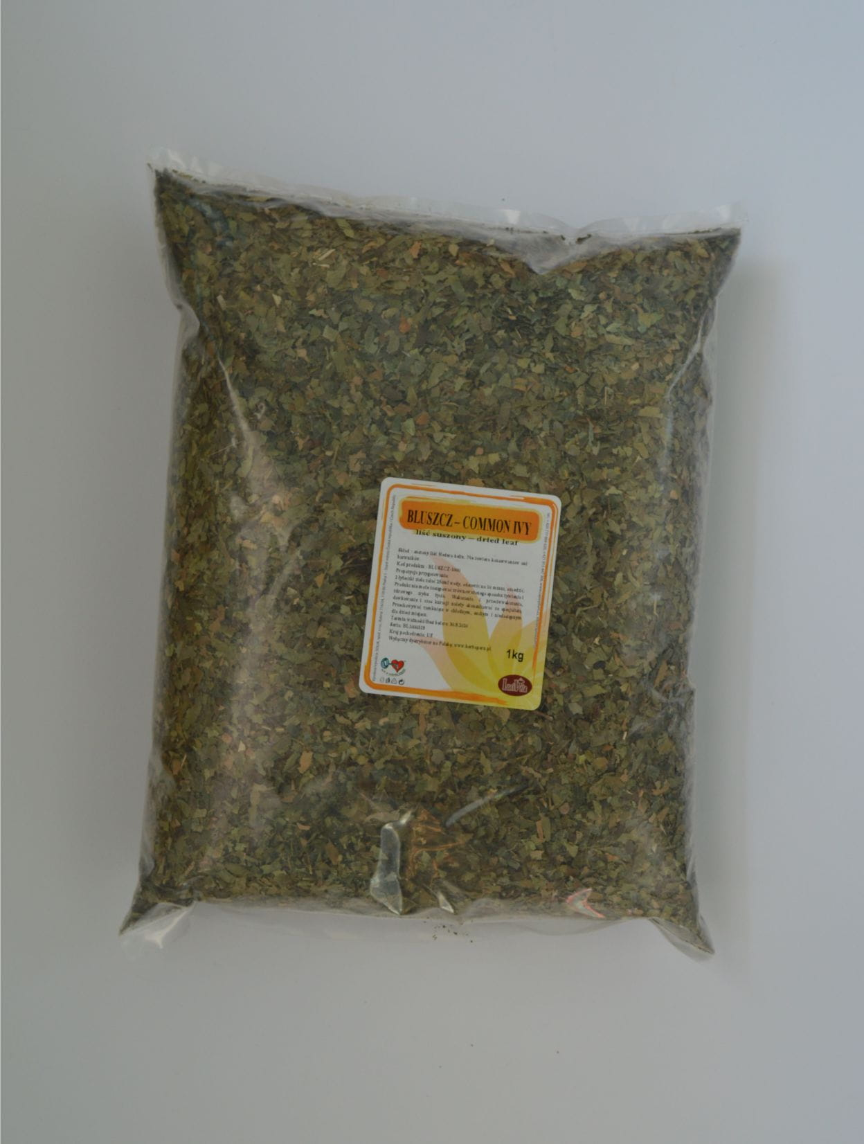 Common ivy - dried leaf - 1000g (1kg)