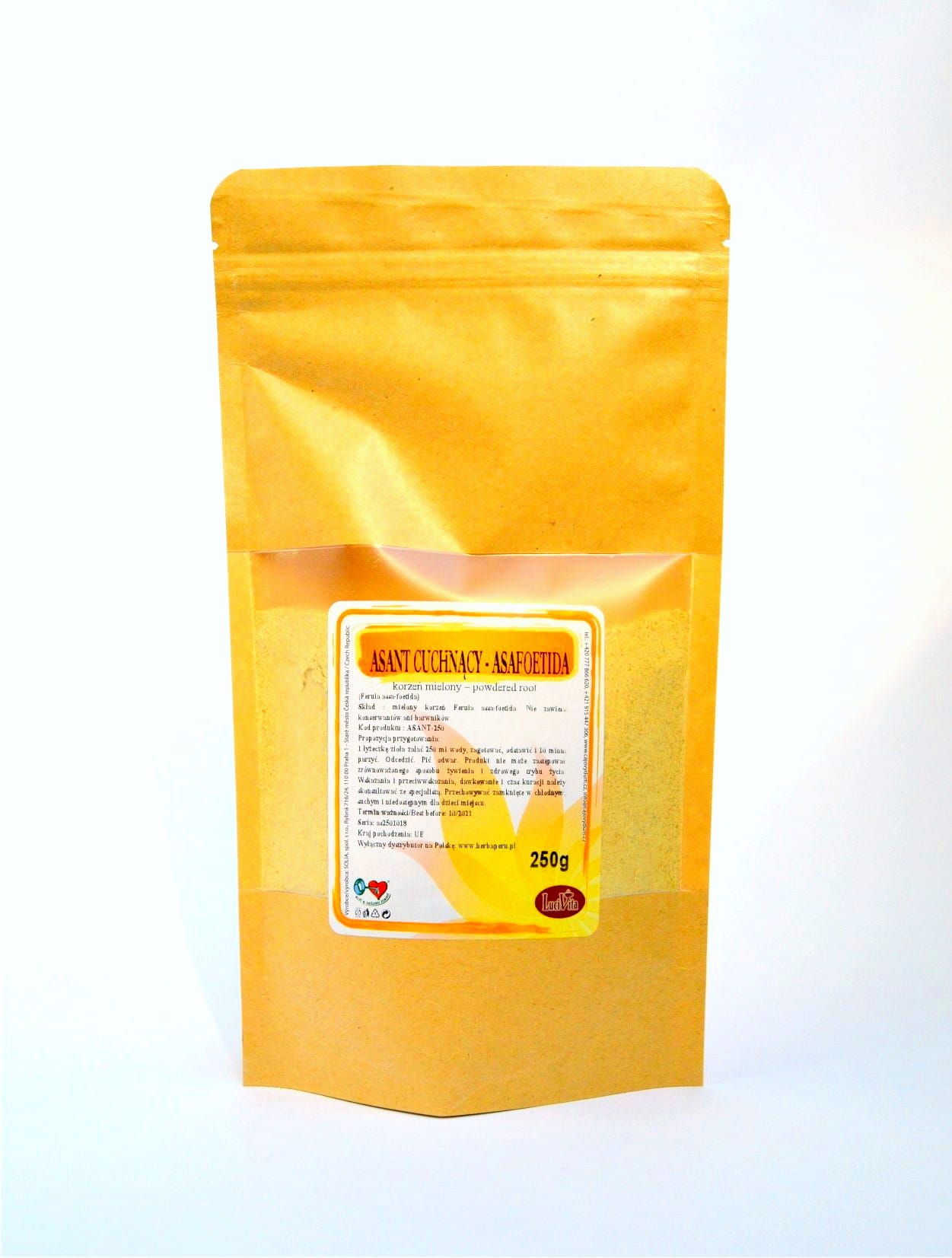 Asafoetida - ground root - 50g (1)