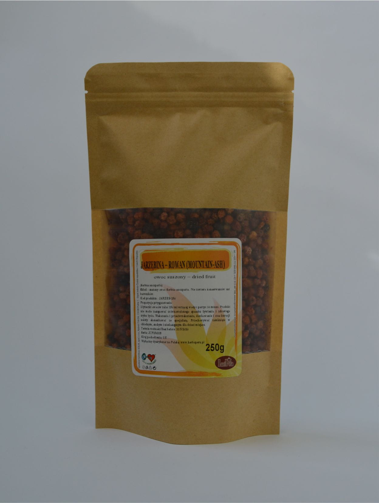 Rowan (mountain-ash) - fruit - 250g