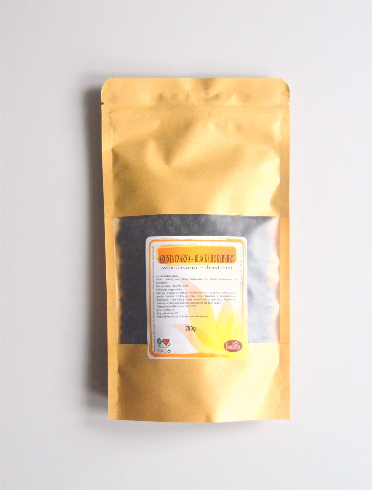 Black chokeberry - dried fruit - 250g