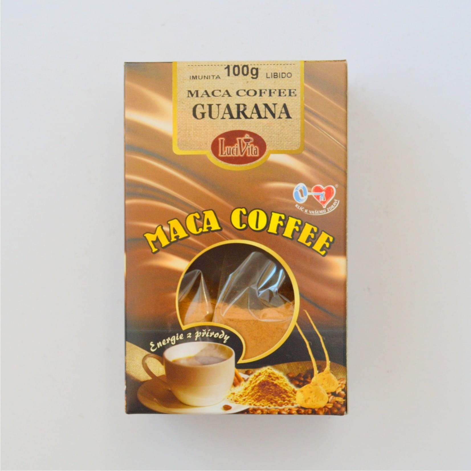 Kawa Maca - Maka Coffee + guarana mielona - 100g