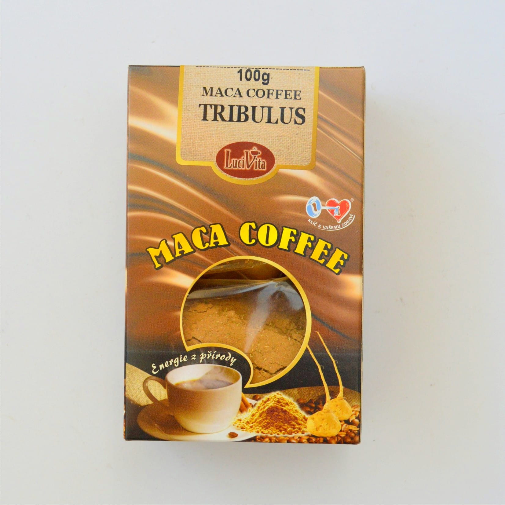 Kawa Maca - Maka Coffee + tribulus mielony - 100g