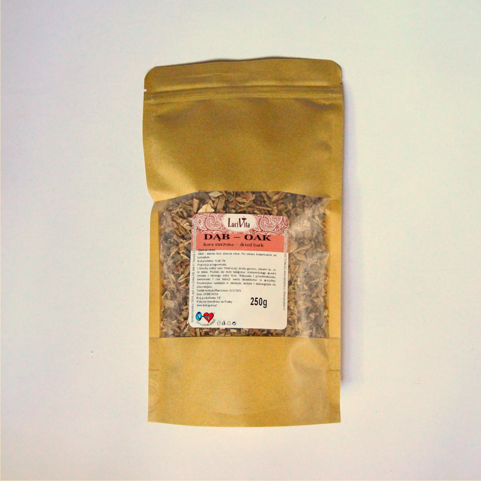 Common oak - bark - 250g