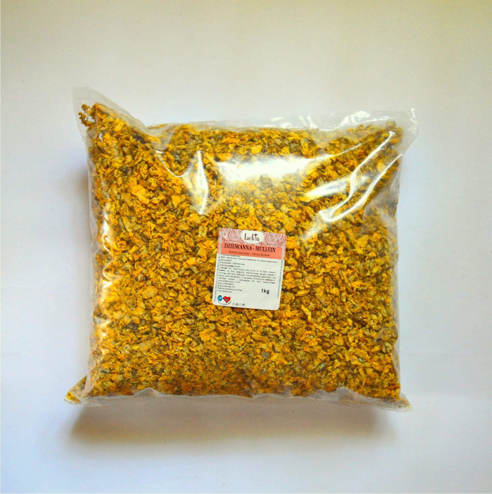 Mullein - dried flower - 1000g (1kg)