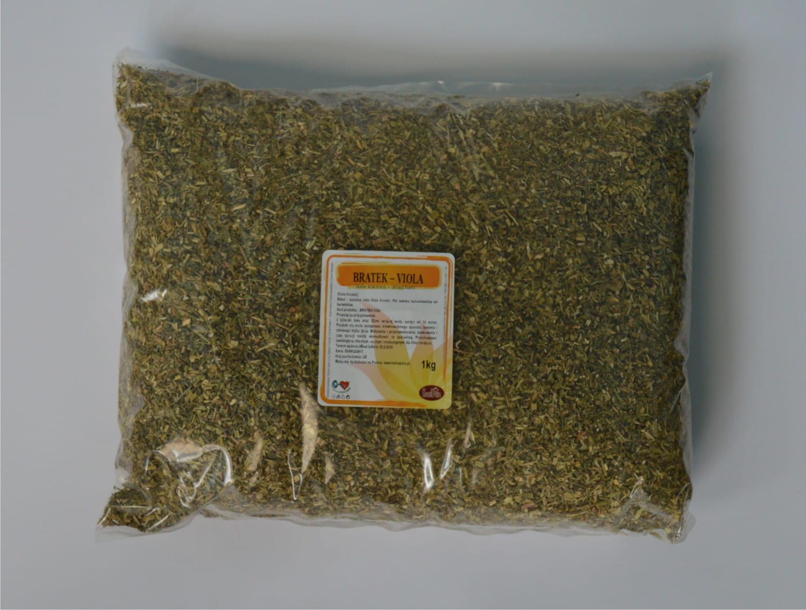 Viola tricolor (wild pansy) - herb - 1000g (1kg)